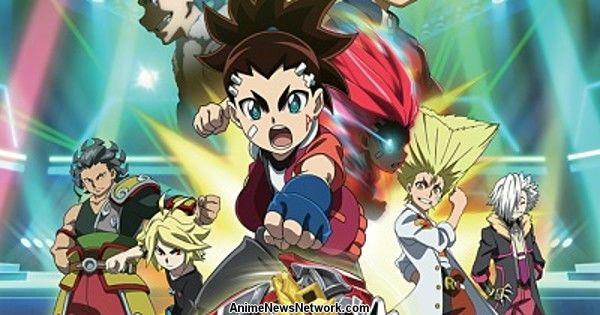 Disney XD to Premiere Beyblade Burst Turbo Anime on December