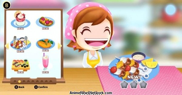 Cooking Mama Listed With New Cooking Mama: CookStar PS4, Switch Game