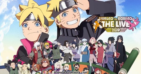 Wielka wyprzedaż produkty wysokiej jakości uznane marki Crunchyroll to Stream Naruto to Boruto The Live 2019 Event ...