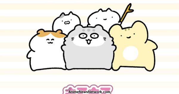 Marumaru Manul Comédia TV Anime Shorts Estreia em 5 de janeiro