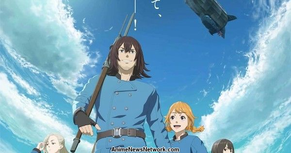 Netflix Adds Drifting Dragons Anime in U.S. on April 30