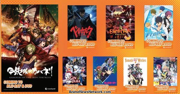 Crunchyroll to Dub, Release Anime on BD/DVD