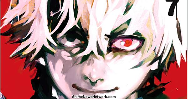 Tokyo Ghoul Ranks #2 on U.S. Monthly Bookscan June List