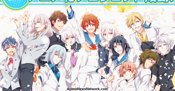Idolish 7 Multimedia Project Has Anime in the Works