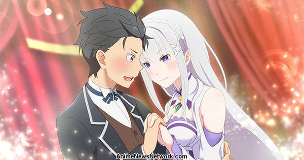 Re:Zero -Death or Kiss- игра для PS4/PS Vita. Сюжетный трейлер.