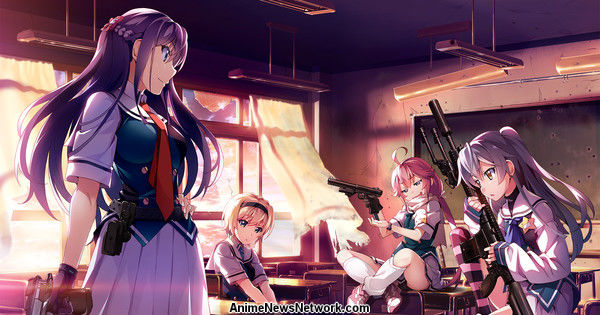 Frontwing Unveils Grisaia: Phantom Trigger PC Game for Worldwide Release