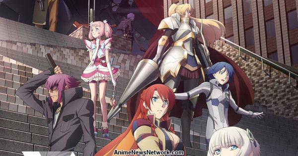 Новое оригинальное аниме Re:Creators от создателей Aldnoah.Zero, Fate/Zero, GATE и музыкой от Хироюки Савано