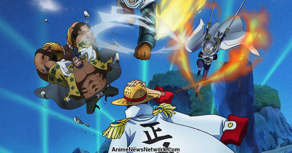 One Piece Anime S New Marine Rookie Arc Previewed In Visuals