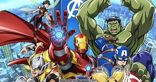 Disney+ Adds Marvel Future Avengers Anime on February 28
