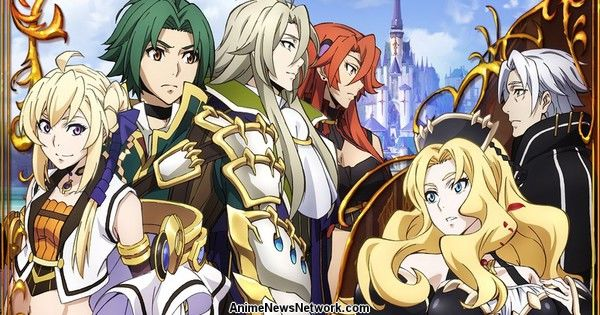 Record of Grancrest War Anime Listed With 24 Episodes