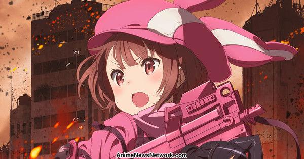 Sword Art Online Alternative Gun Gale Online Anime Reveals TV Ad, Staff