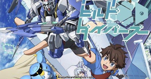 Crunchyroll Adds Gundam Build Divers Anime
