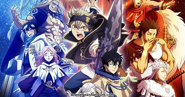 Black Clover Anime Unveils New Visual