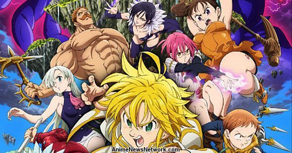 Seven Deadly Sins Prisoners Of The Sky Anime Film Reveals Trailer Visual More Cast