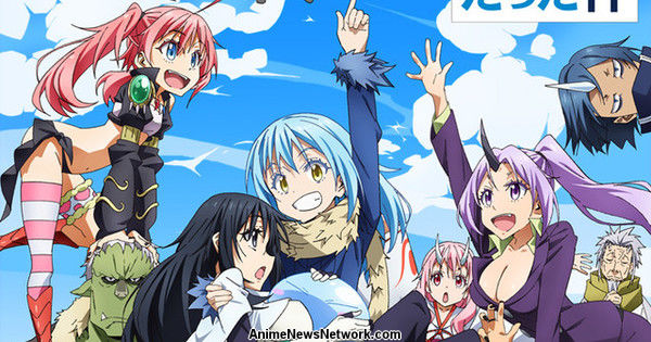 That Time I Got Reincarnated as a Slime Anime Listed With 24 Episodes