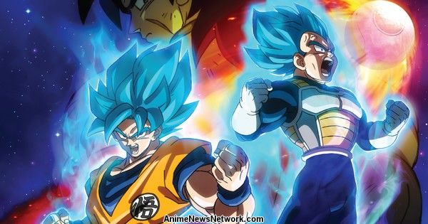 Funimation's Theatrical Screenings of Dragon Ball Super: Broly Film in U.S., Canada to All Feature English Dub