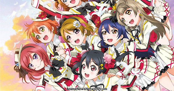 Love Live's 2nd Season Opening Sells 66,000 CDs to Rank #3