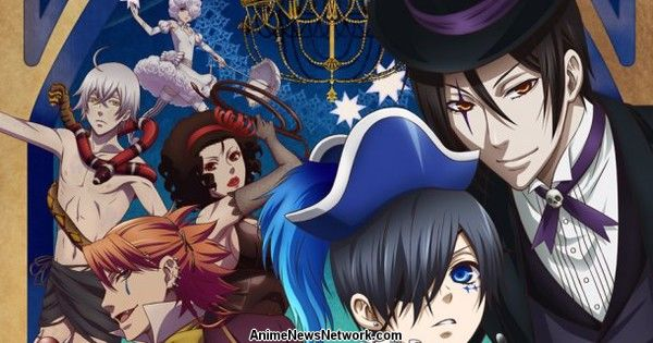 Black Butler: Book of Circus 30-Second Commercial Streamed
