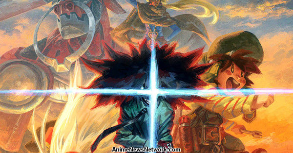 Cannon Busters Animation Kickstarter Launches With International Team