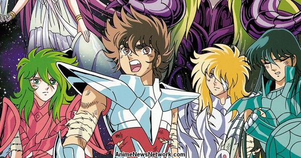 Netflix Adds Saint Seiya: The Hades Chapter Anime Series