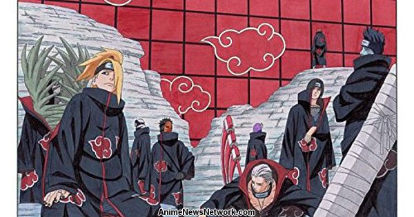 Final Naruto Epilogue Novel's Date, Akatsuki Story Unveiled