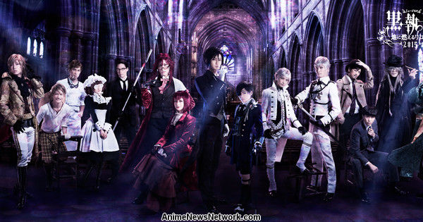 3rd Black Butler Musical's Video Promotes Shows in Japan, China