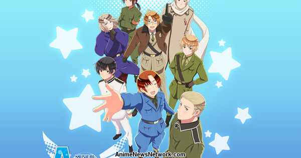 Hetalia Franchise Gets Musical Adaptation in Tokyo in December