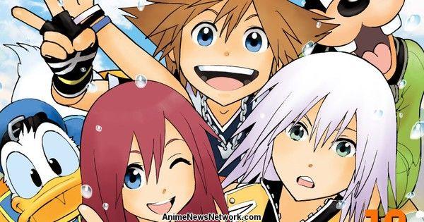 shiro amano  kingdom hearts manga series is finished - news