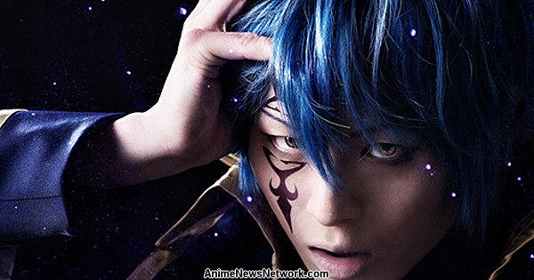 Fairy Tail Stage Play Reveals Hirofumi Araki in Costume as Jellal
