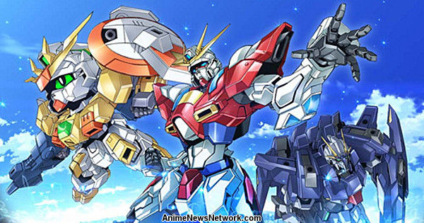 Episode 25 gundam build fighters try anime news network for Domon gundam build fighters try
