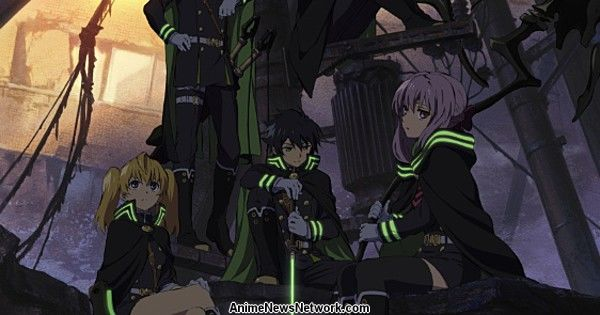 Funimation to Stream Seraph of the End Anime