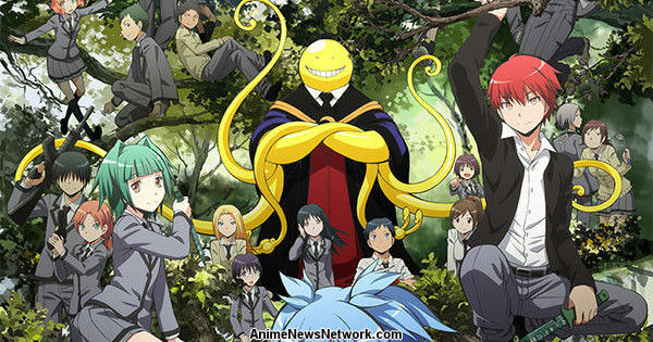 Assassination Classroom Anime's 2nd Season to Cover Manga's Ending