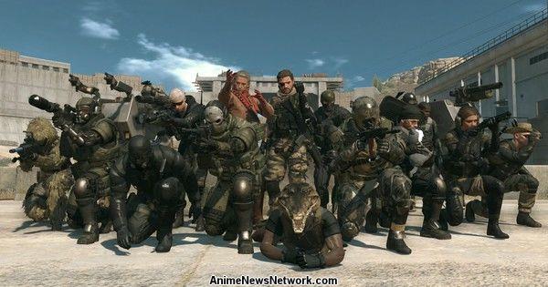 Metal Gear Online TGS 2015 Gameplay Demonstration Streamed