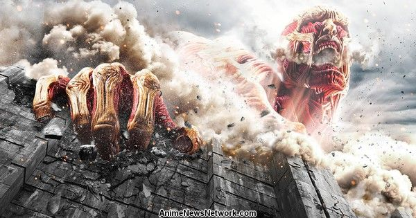 Attack on Titan Live-Action Film's New Trailer Previews Colossal Titan