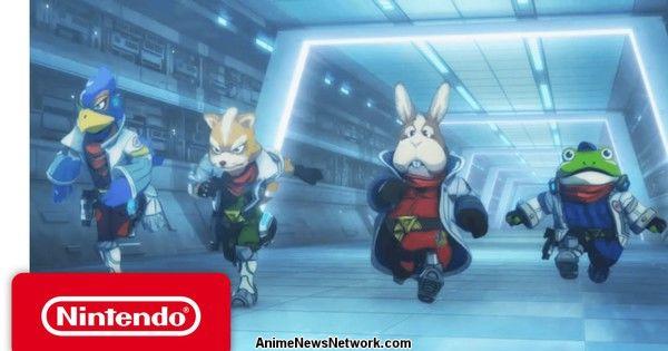 Star Fox Zero Game Gets Anime Short by Attack on Titan Studios