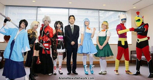 World Cosplay Summit Contestants Visit Japan's Foreign Ministry