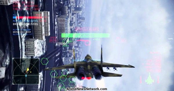 Ace Combat Infinity's Area 88 Aircraft Also Available Overseas