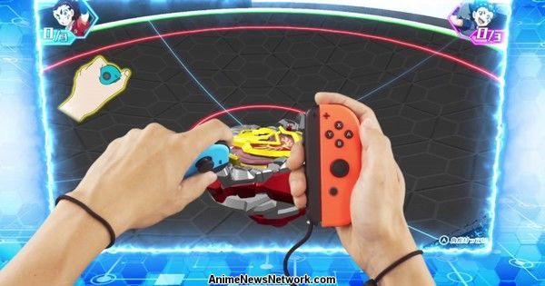 Beyblade Burst Battle Zero Switch Game's Promo Video Streamed - News