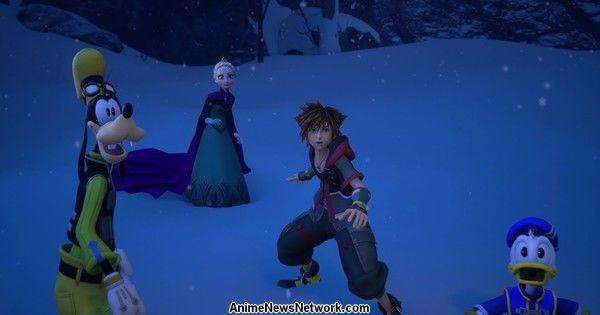 Kingdom Hearts III Game Wraps Development