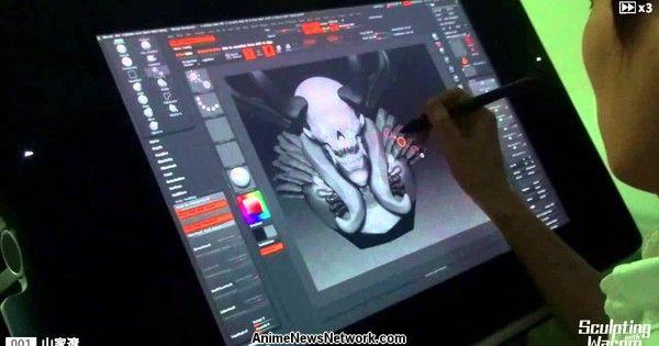Watch Rurouni Kenshin: Kyoto Inferno Designer Model on Wacom's Live Sculpting