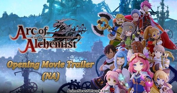 Arc of Alchemist PS4 Game Launches in January in N. America, Europe