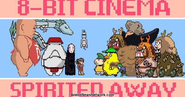 Ghibli's Spirited Away Film Shrunk into 5-Minute, 8-Bit Video