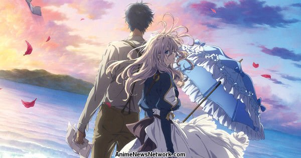 Funimation Screens Violet Evergarden: The Movie 30 марта в США, Канада.