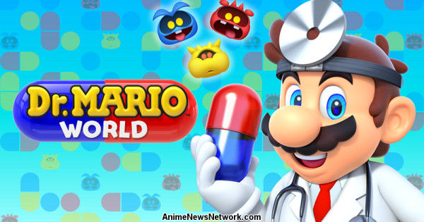 Dr. Mario World Smartphone Game Ends Service in November