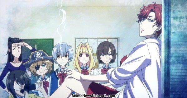 Комедия-аниме Мамору Осии VladLove о вампирах будет транслироваться во второй половине 14 марта
