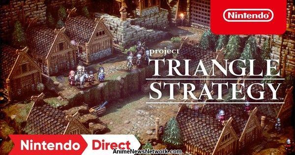 Square Enix представляет новую ролевую игру Project Triangle Strategy на 2022 год