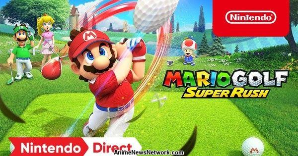 Nintendo представляет 25 июня Mario Golf: Super Rush Switch Game