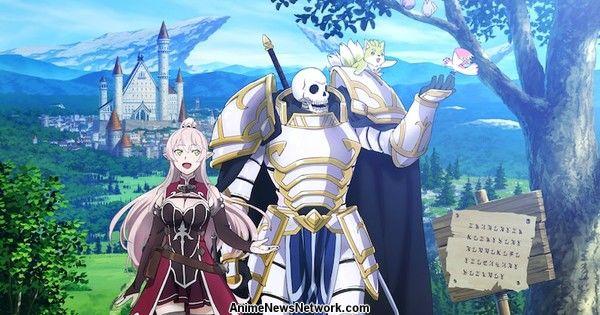 Skeleton Knight in Another World Light Novels Get TV Anime