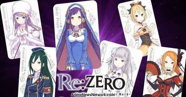 Re: ZERO — Начало жизни в другом мире: пророчество о троне. Обзорный трейлер игры.