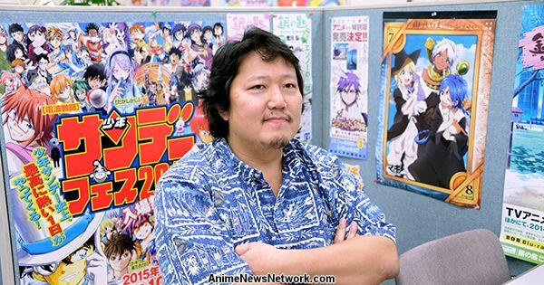 Shonen Sunday Editor-in-Chief Takenori Ichihara Steps Down After 6 Years